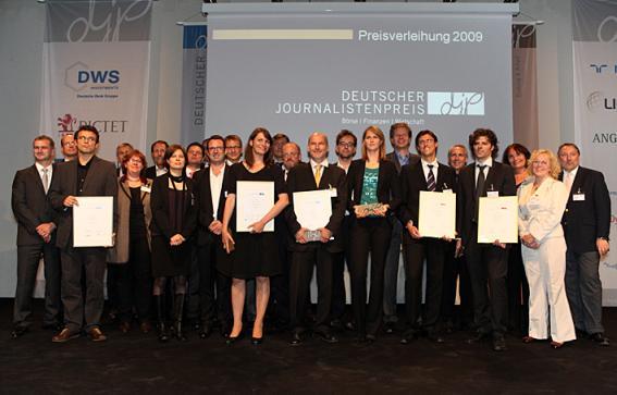Preisverleihung djp 2009