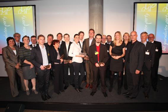 Preisverleihung djp 2011