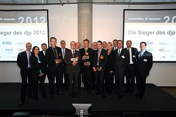 Preisverleihung djp 2012
