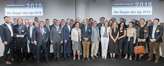 Preisträger, Juroren, Partner und Förderer des djp 2018